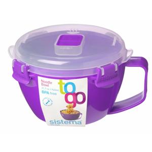 Miska na nudle Sistema Noodle Bowl To Go Barva: fialová
