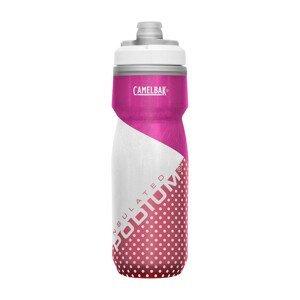 Cyklistická láhev Camelbak Podium Chill 0,62l Barva: růžová/bílá