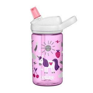 Sportovní láhev Camelbak Eddy+ Kids 0,4l Barva: růžová