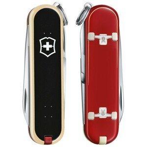 Kapesní nůž Victorinox Classic LE Skateboarding Barva: červená