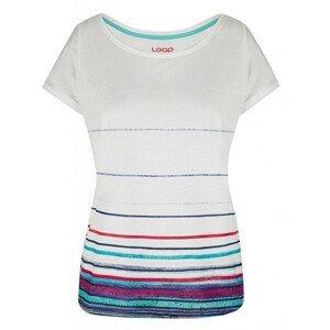 Dámské triko Loap Alby Velikost: XS / Barva: bílá