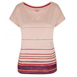 Dámské triko Loap Alby Velikost: XS / Barva: růžová
