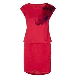 Šaty Loap Algera Velikost: XS / Barva: červená