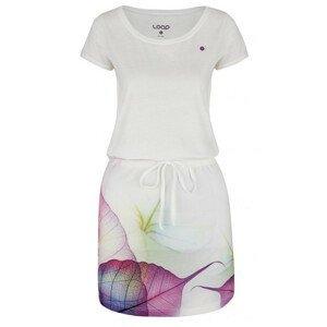 Šaty Loap Alysa Velikost: XS / Barva: bílá