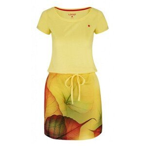 Šaty Loap Alysa Velikost: XS / Barva: žlutá