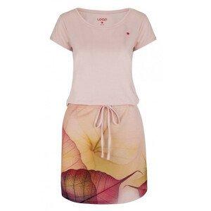 Šaty Loap Alysa Velikost: S / Barva: růžová