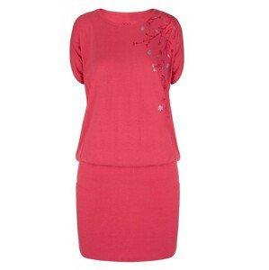 Šaty Loap Aslana Velikost: S / Barva: růžová