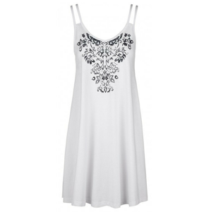 Šaty Loap Barunka Velikost: XS / Barva: bílá