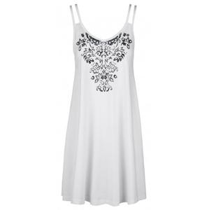 Šaty Loap Barunka Velikost: S / Barva: bílá