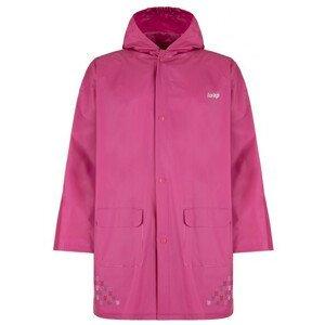 Dětská pláštěnka Loap Xapa Dětská velikost: 5-6 / Barva: růžová