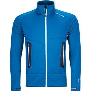 Pánská mikina Ortovox Fleece Light Jacket M Velikost: L / Barva: modrá