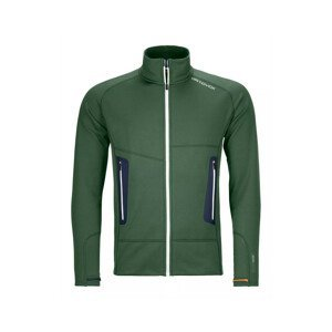 Pánská mikina Ortovox Fleece Light Jacket M Velikost: XL / Barva: zelená