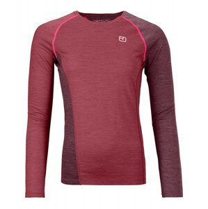 Dámské triko Ortovox 120 Cool Tec Fast Upward Long sleeve W Velikost: XS / Barva: červená