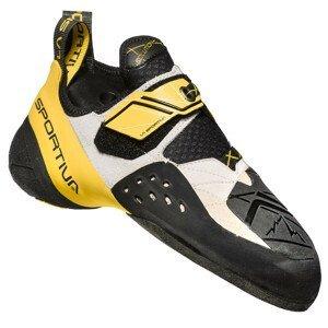 Lezečky La Sportiva Solution Velikost bot (EU): 44,5 / Barva: žlutá/bílá