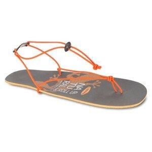 Sandály Lizard Roll Up Velikost bot (EU): 37 / Barva: šedá/oranžová