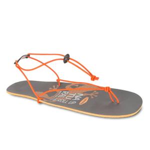 Sandály Lizard Roll Up Velikost bot (EU): 39 / Barva: šedá/oranžová