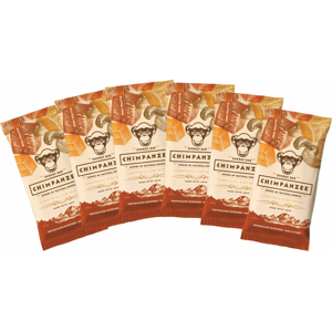 Set Chimpanzee Energy Bar Cashew Caramel 55g - 6ks Barva: hnědá
