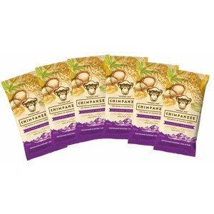 Set Chimpanzee Energy Bar Crunchy Peanut 55g - 6ks Barva: fialová