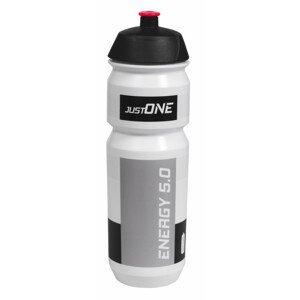 Cyklistická láhev Just One Energy 5.0 750 ml Barva: bílá/černá