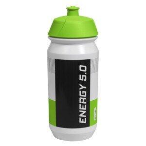 Cyklistická láhev Just One Energy 5.0 500 ml Barva: bílá/zelená