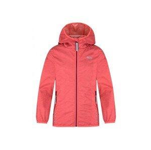 Dětská bunda Loap Lyuk Dětská velikost: 122-128 / Barva: oranžová