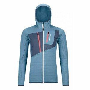 Dámská mikina Ortovox W's Fleece Grid Hoody Velikost: S / Barva: světle modrá