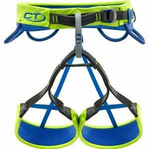 Úvazek Climbing Technology Quarzo Velikost: XL / Barva: modrá/žlutá