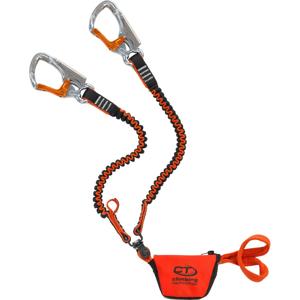 Tlumič pádu Climbing Technology Top Shell Slider Twist Barva: černá/oranžová
