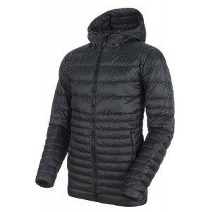 Pánská bunda Mammut Convey IN Hooded Jacket Men Velikost: L / Barva: černá