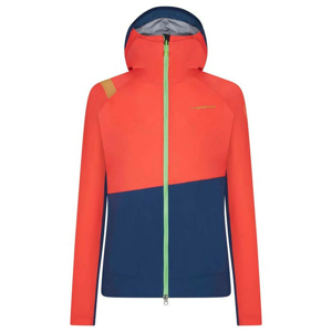 Dámská bunda La Sportiva Thema Gtx Jkt W Velikost: M / Barva: růžová/modrá