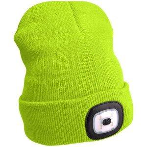 Čepice s čelovkou Extol Light Barva: žlutá