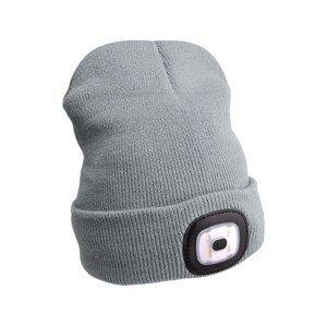 Čepice s čelovkou Extol Light Barva: šedá