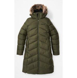 Dámský kabát Marmot Wm's Montreaux Coat Velikost: S / Barva: tmavě zelená