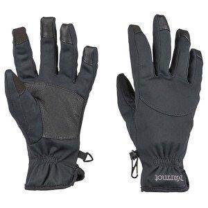 Dámské rukavice Marmot Connect Evolution Glove Velikost rukavic: L / Barva: černá