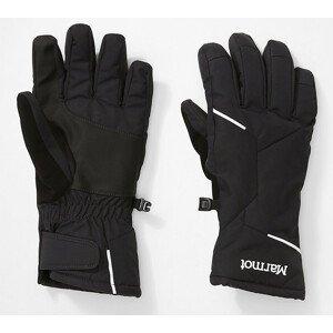 Dámské rukavice Marmot Moraine Glove Velikost rukavic: M / Barva: černá