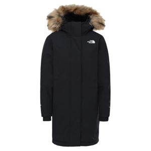 Dámská péřová bunda The North Face Arctic Parka Velikost: M / Barva: černá