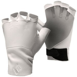 Rukavice Black Diamond Crack Velikost rukavic: S / Barva: bílá