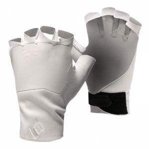 Rukavice Black Diamond Crack Velikost rukavic: M / Barva: bílá