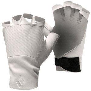 Rukavice Black Diamond Crack Velikost rukavic: L / Barva: bílá