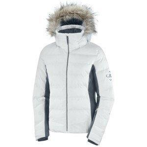 Dámská bunda Salomon Stormcozy Jacket W Velikost: L / Barva: bílá