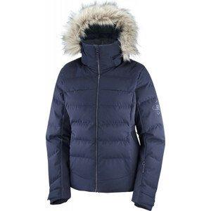 Dámská bunda Salomon Stormcozy Jacket W Velikost: S / Barva: tmavě modrá