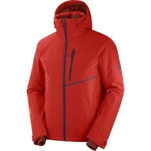Pánská bunda Salomon Blast Jacket Velikost: XXL / Barva: červená