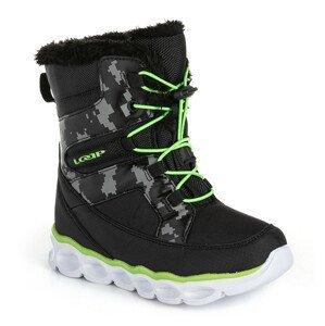 Dětské zimní boty Loap Enima Dětské velikosti bot: 28 / Barva: černá