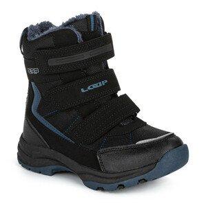 Dětské zimní boty Loap Sneeky Dětské velikosti bot: 31 / Barva: modrá/černá
