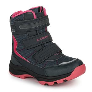 Dětské zimní boty Loap Sneeky Dětské velikosti bot: 32 / Barva: černá/růžová