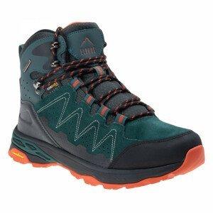 Pánské boty Elbrus Eravica Mid WP GC Velikost bot (EU): 44 / Barva: zelená/oranžová