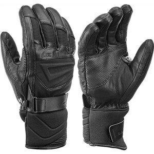 Lyžařské rukavice Leki Griffin S Velikost rukavic: 9 / Barva: černá