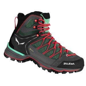 Dámské boty Salewa Ws Mtn Trainer Lite Mid Gtx Velikost bot (EU): 41 / Barva: černá/šedá