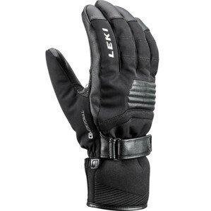 Lyžařské rukavice Leki Stormlite 3D Velikost rukavic: 10 / Barva: černá