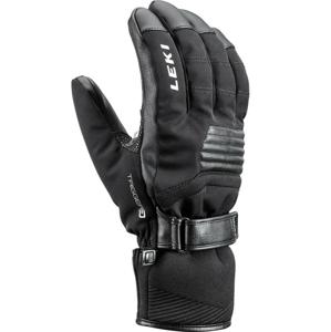 Lyžařské rukavice Leki Stormlite 3D Velikost rukavic: 8,5 / Barva: černá
